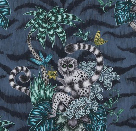 Lemur - Navy fabric