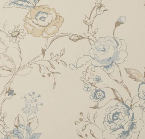 Helena raspberry wallpaper clarisse wallpapers - Papel pared vintage ...