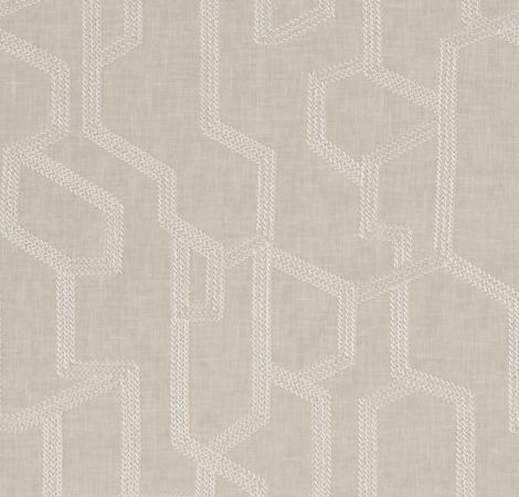 Labyrinth - Linen fabric