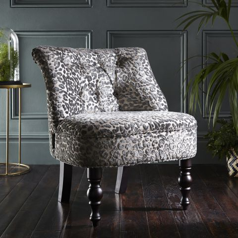 Odette Chair - Leopold Pewter