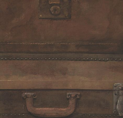Luggage - Leather wallpaper