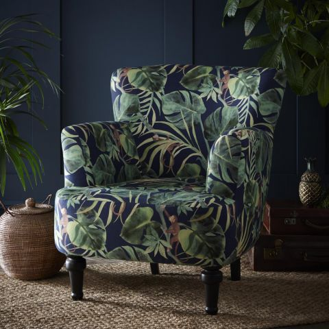 Dalston Chair - Monkey Business Indigo
