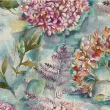 Flourish - Fig fabric