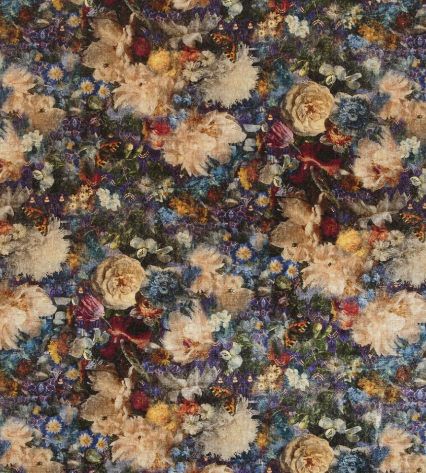 Royal Garden Velvet - Jade fabric   Historic Royal Palaces   GP & J ...