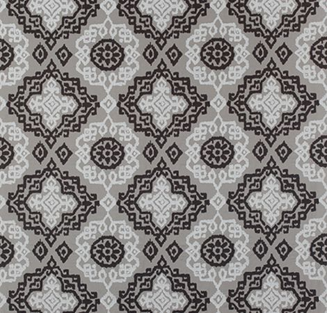 Scottsdale Embroidery - Grey/Black fabric