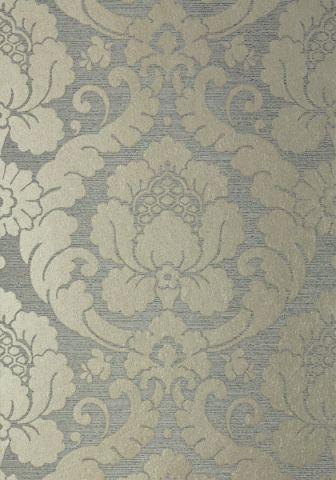 Marlow - Metallic Pewter and Charcoal wallpaper | Serenade ...