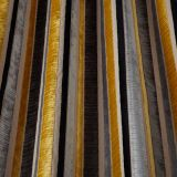 Imperio Stripe - Charcoal fabric