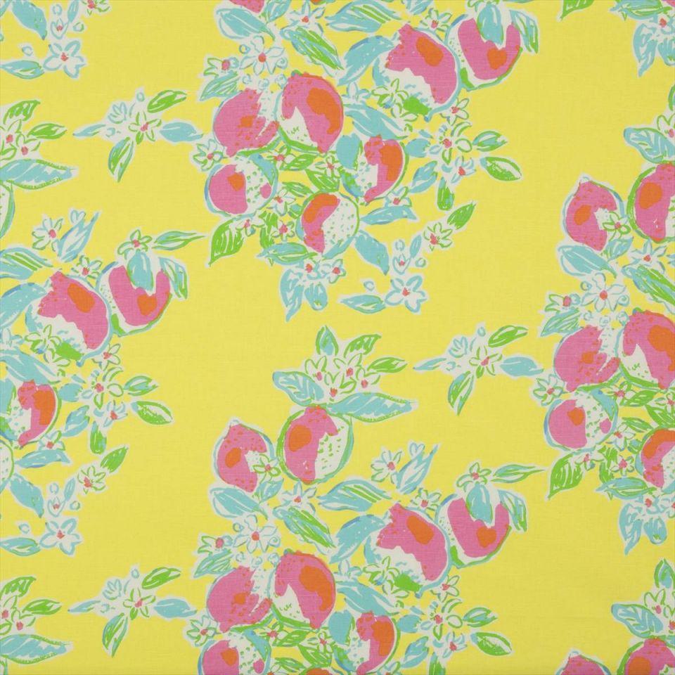 Pink Lemonade Sunshine Fabric Lilly Pulitzer Ii Lee Jofa