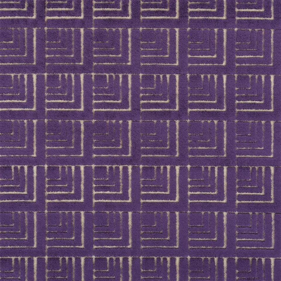 Frith - Violet fabric   Berwick   Designers Guild