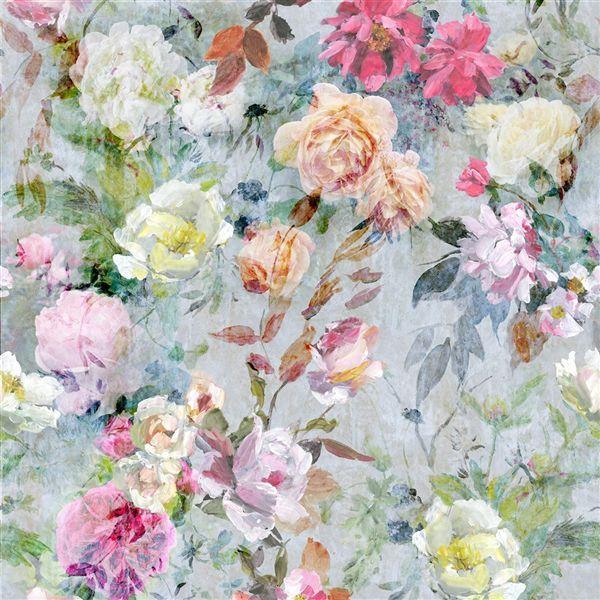 Marianne Fuchsia Fabric Jardin Des Plantes Designers