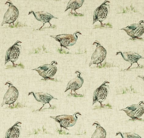 Partridge - Linen fabric