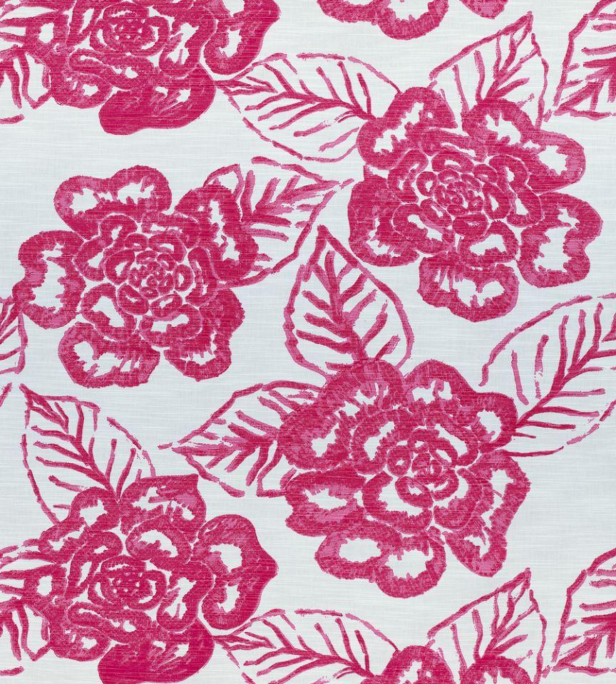 Bonita Springs Pink Fabric Summer House Thibaut