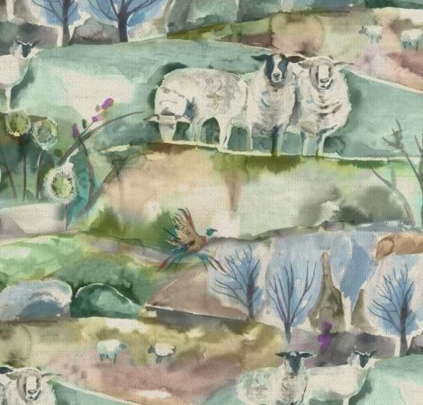 Buttermere - Sage fabric