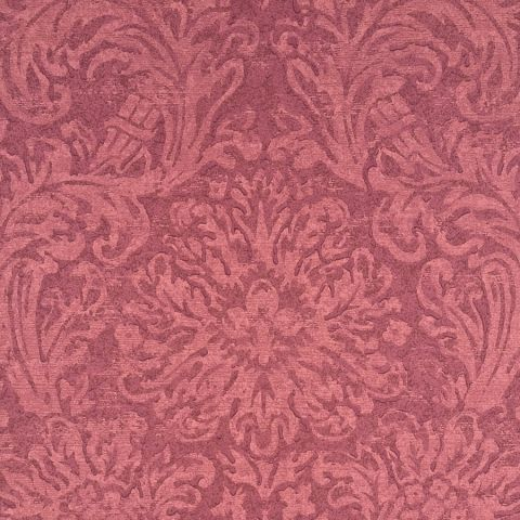 Faded Damask - Red