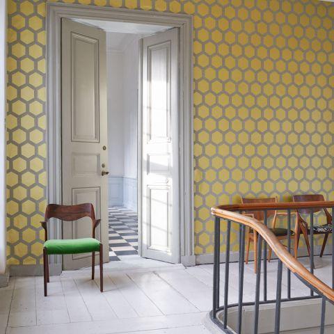 Designers Guild Behang.Zardozi Alchemilla Wallpaper Zardozi Designers Guild