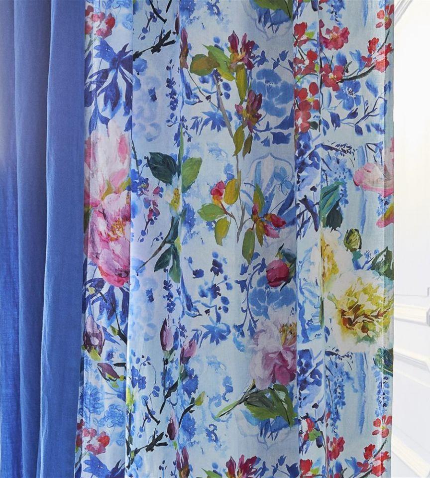 Majolica - Cornflower Fabric