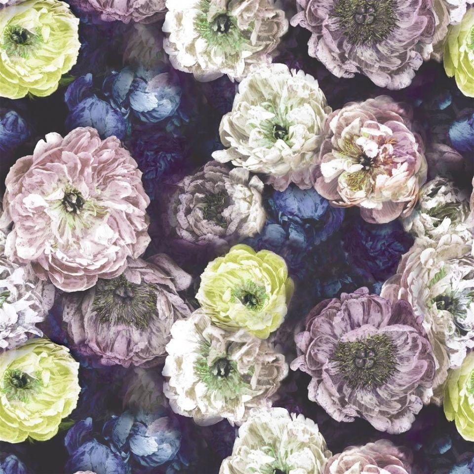 Le Poeme De Fleurs Midnight Fabric Le Poème De Fleurs Designers Guild