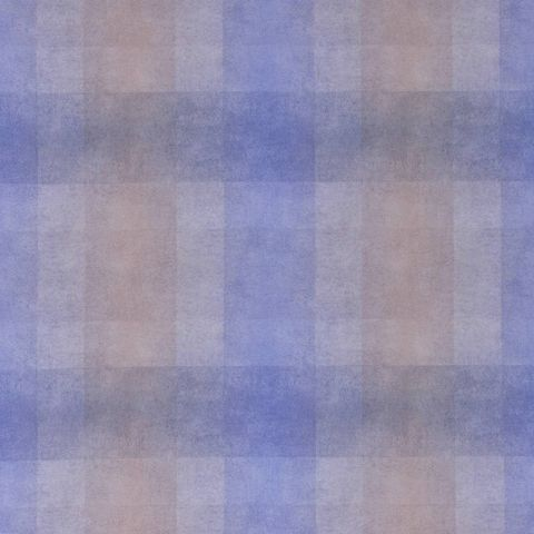 Carreaux Fabric - Blue