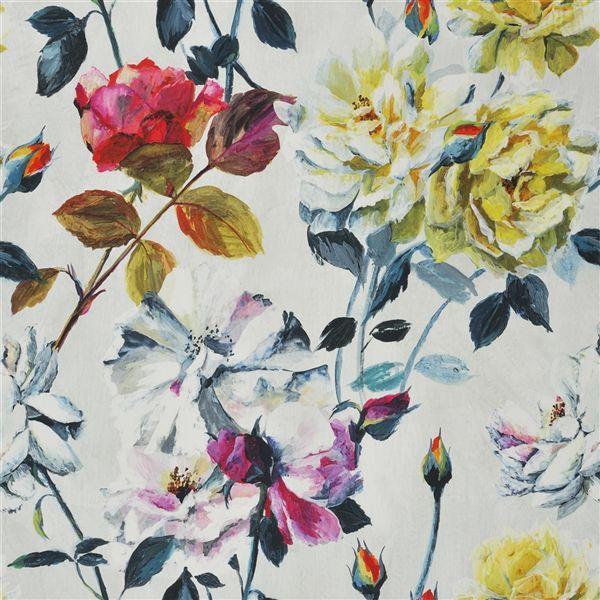 Couture Rose Fuchsia Fabric Couture Rose Designers Guild
