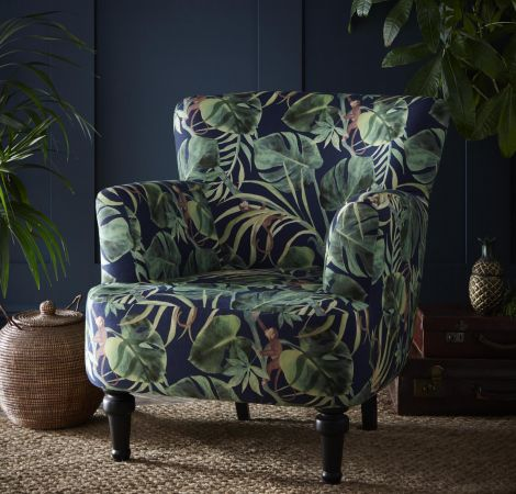 Dalston Chair   Monkey Business Indigo