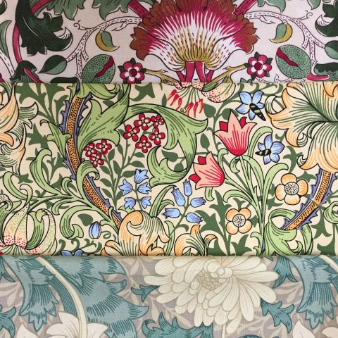William Morris Craft Bag
