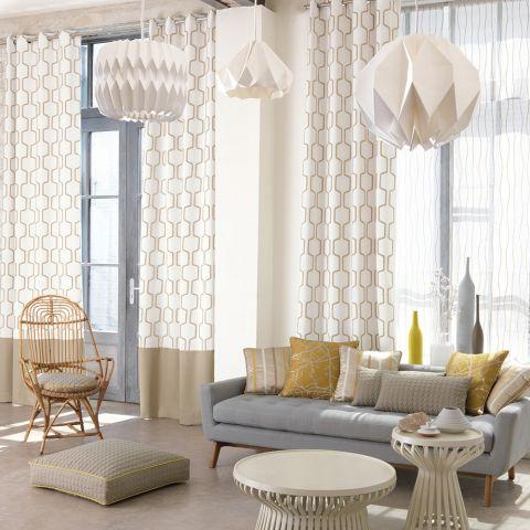 made to measure designer curtains from graham sanderson. Black Bedroom Furniture Sets. Home Design Ideas