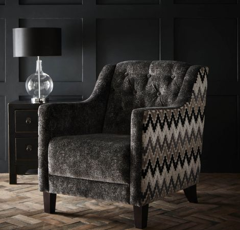 Hampton Chair   Stucco Ebony