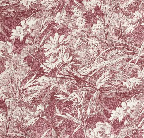 Royal Daisy - Vintage Rose fabric