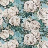 The Rose - Swedish Blue fabric