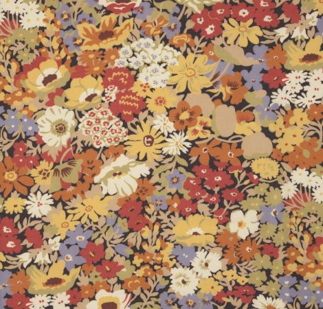 Flowers of Thorpe - Autumn Bloom fabric