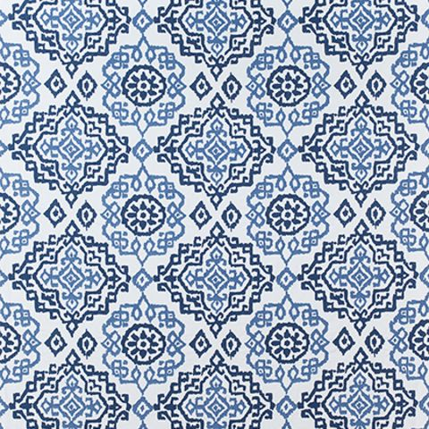 Scottsdale Embroidery - Blue/White