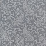 Bradford Paisley - Grey fabric
